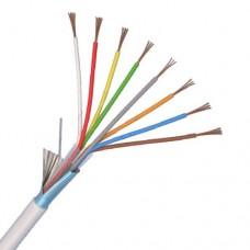 Cablu alarma 8 fire multifilare ecranate + fir masa CU 8 x 0,22mm