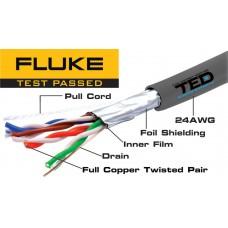 Cablu FTP cat.5e cupru integral 0,52 24AWG FLUKE PASS