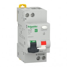 Intrerupator automat modular diferential Schneider Electric, 4.5kA, 1P+N, 16A, 30mA, curba C
