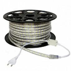 electrice arad - banda led 220v 60led/m 14.4w/m ip65 r5050 6400k - odosun - od6653