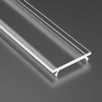 Capac dispersor transparent, pentru profil aluminiu 05-30-0530, lungime 1m