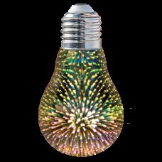 Bec LED decorativ Stardust G80 2W E27
