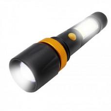 Lanterna cu incarcare si acumulator litiu LED ZOOM TL-8096 TED
