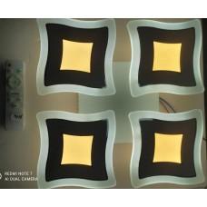 electrice arad - lustra led moderna cu telecomanda model nou, 120w, 4 moduri de funcționare, mod lumina de veghe, dimabila. - horoz electric - 19455
