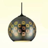 Pendul sticla, 3D, SPECTRUM, E27, 240X220 mm